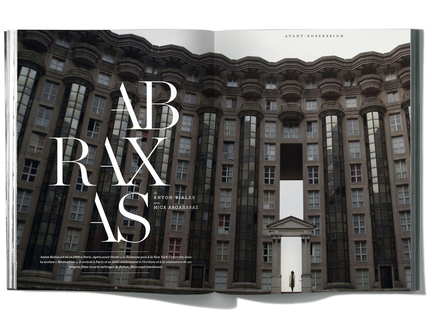 Photographies de Anton Bialas, Abraxas