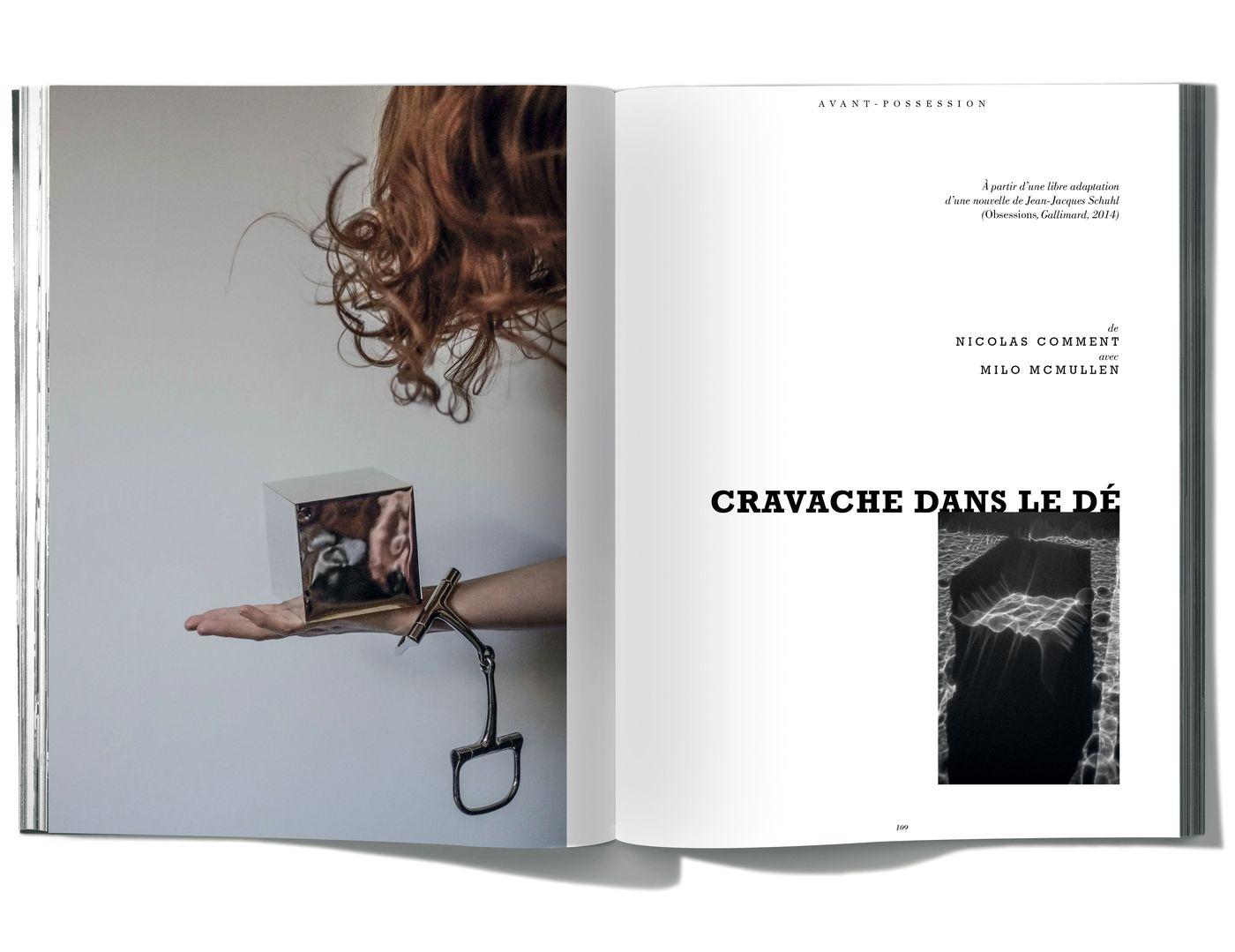 Photographies de Nicolas Comment, Cravache dans le dé