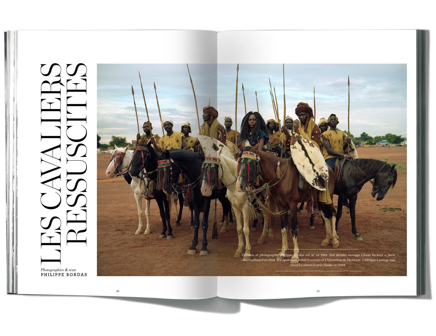 Photographies & Texte de Philippe Bordas, Les Cavaliers ressuscités