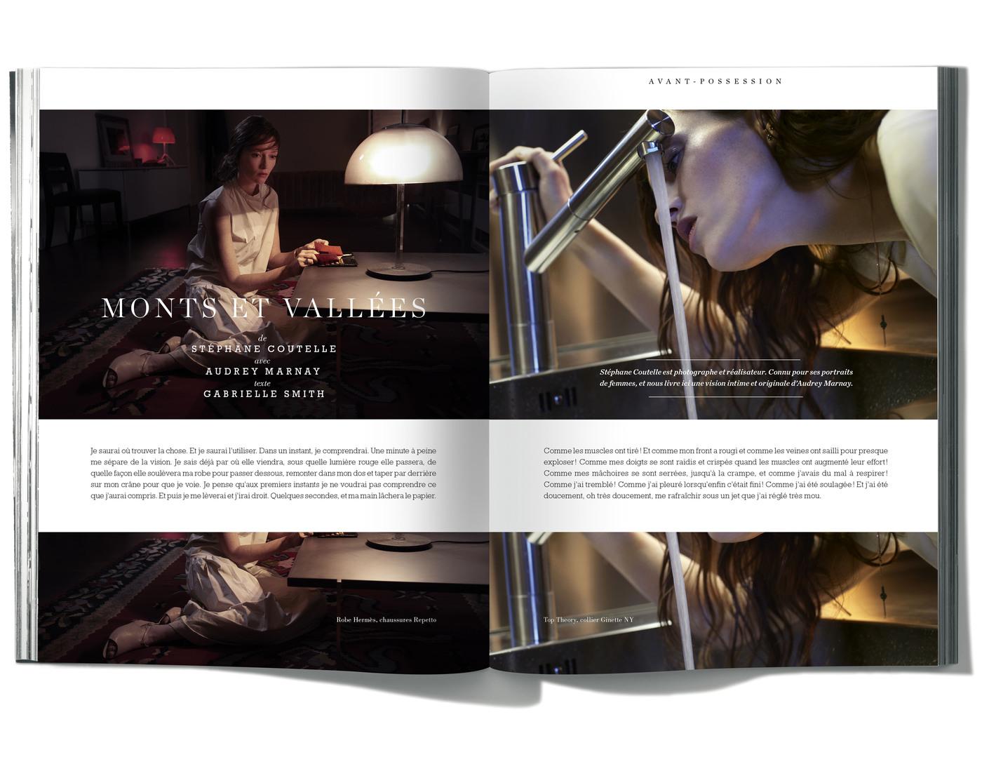 Photographies de Stéphane Coutelle, Texte de Gabrielle Smith, avec Audrey Marnay, Monts et vallées