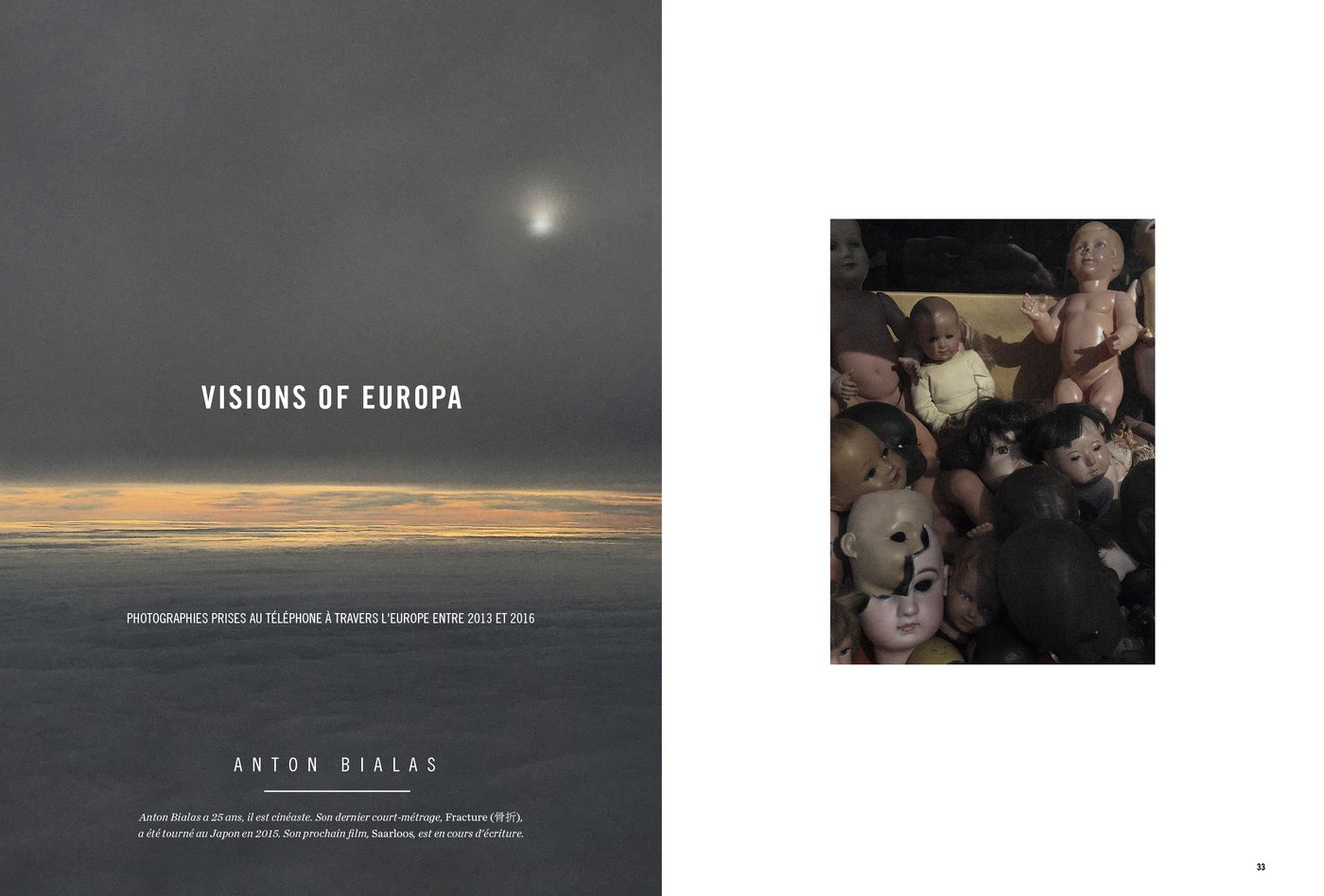 Possession Immédiate Volume 5 - Photographies d'Anton Bialas, Visions of Europa