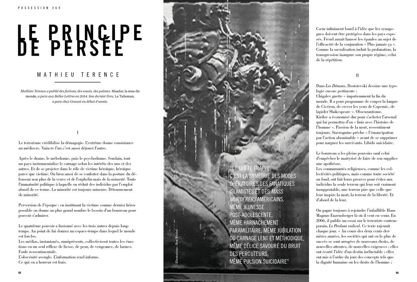 Possession Immédiate Volume 5 - Texte de Mathieu Terence, Le Principe de Persée