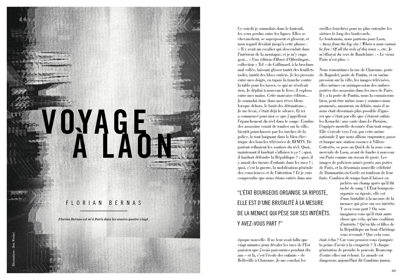 Possession Immédiate Volume 5 - Texte de Florian Bernas, Voyage à Laon