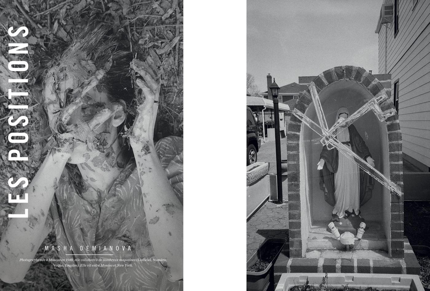 Photographies de Masha Demianova, Les Positions