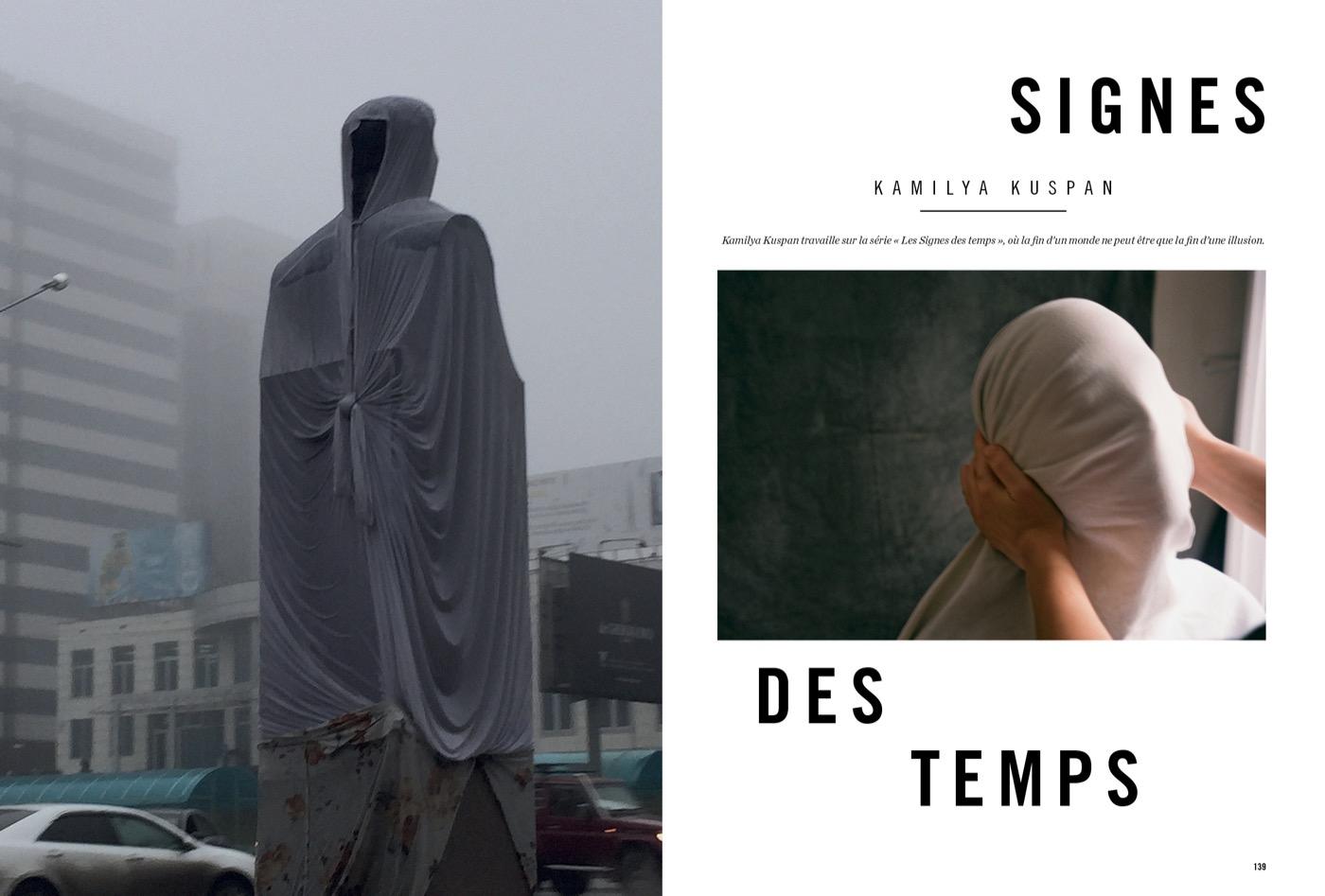 Photographies de Kamilya Kuspan, Signes des temps