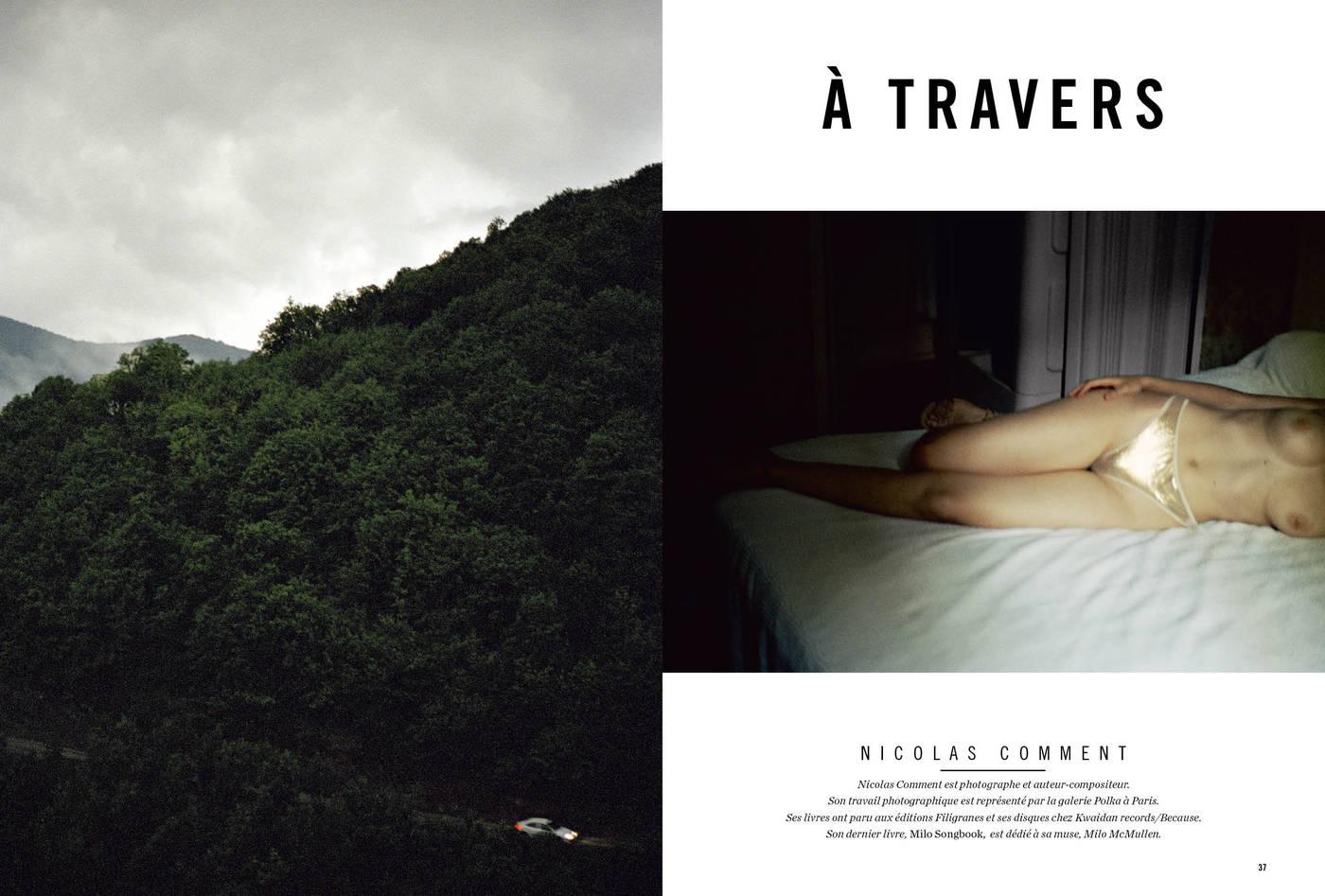 Photographies de Nicolas Comment, À travers