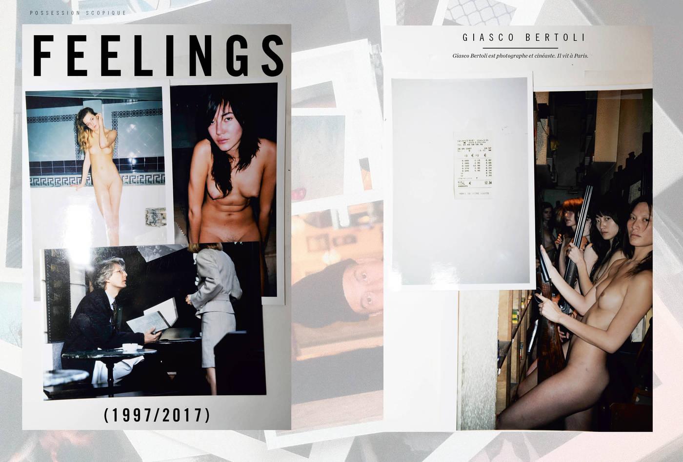 Photographies de Giasco Bertoli, Feelings