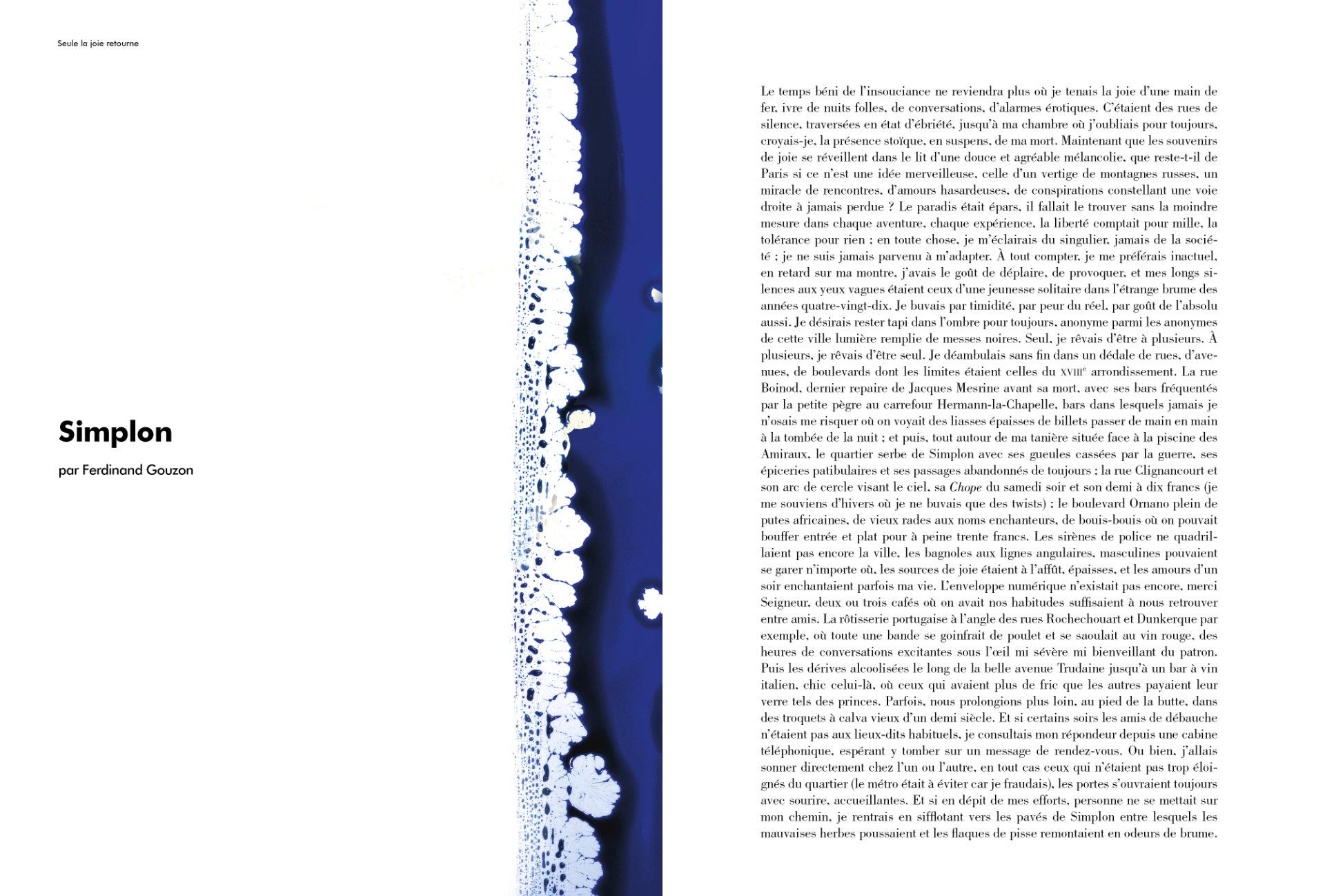 Simplon par Ferdinand Gouzon (extrait)