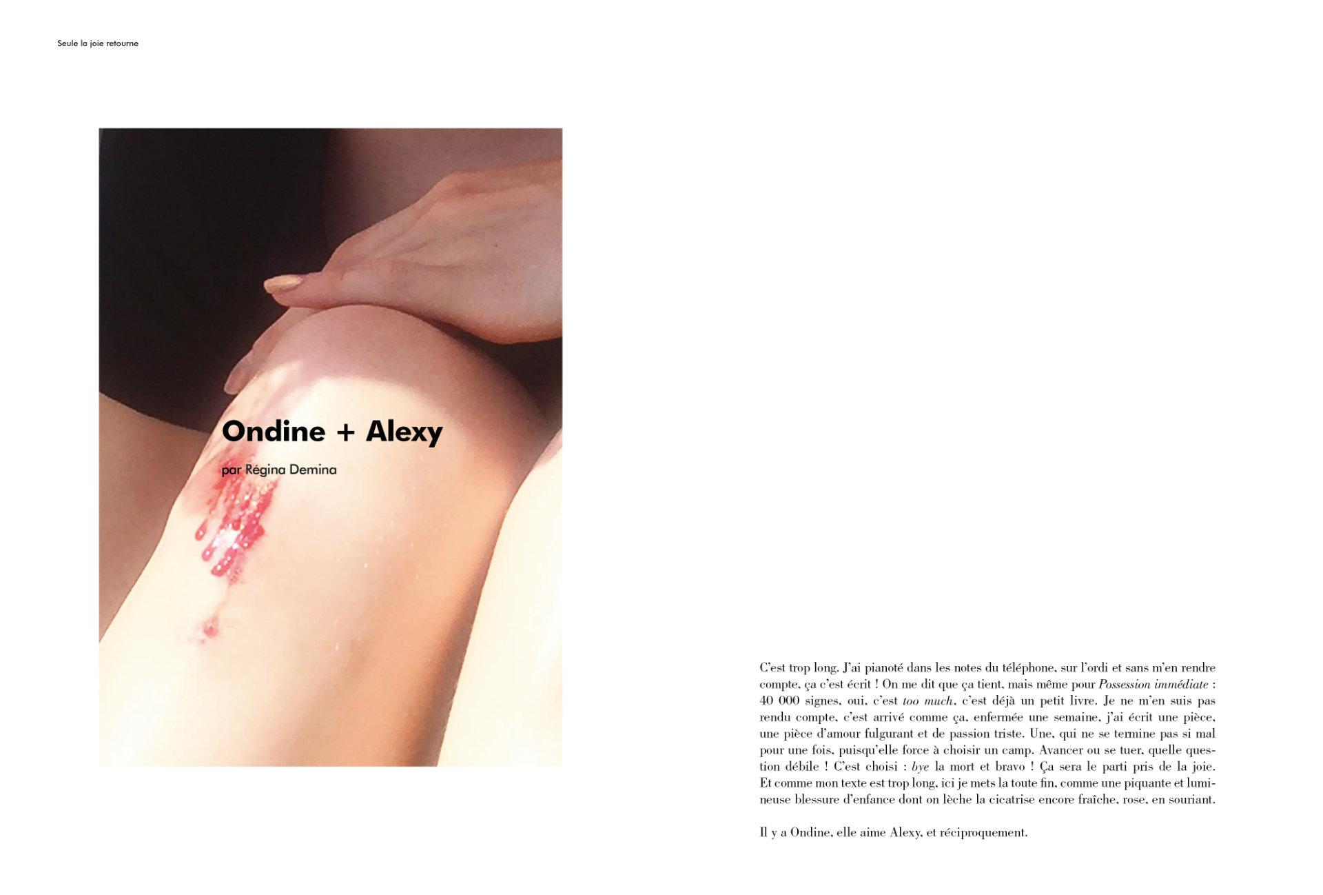 Ondine + Alexy par Régina Demina (extrait)